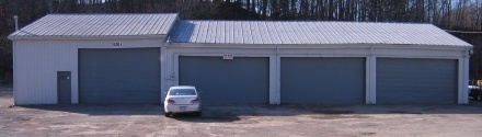 garage and shop space